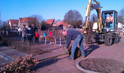 Boomplantdag in Doetinchem