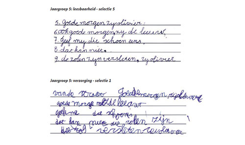 Wonderbaar Leerlingen schrijven niet slordiger - Omroep Gelderland KZ-67