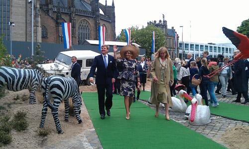 Burgers Zoo koningsbezoek Arnhem