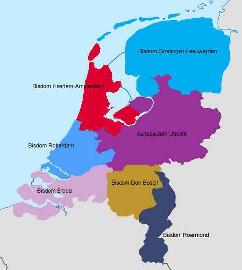 van de kaart den bosch Gerard de Korte geïnstalleerd als bisschop   Omroep Gelderland