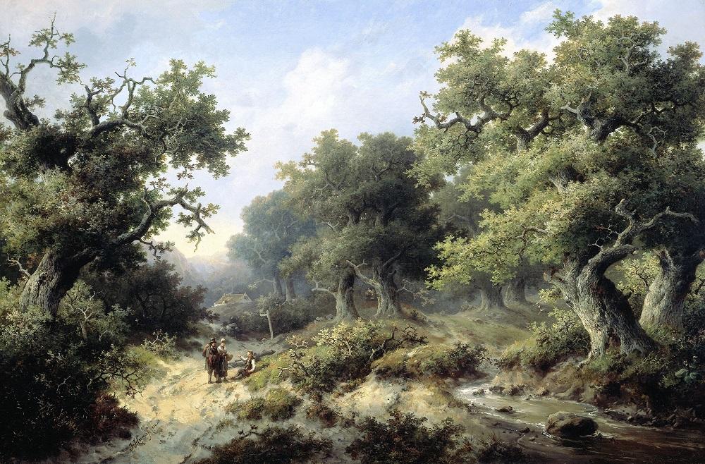 Een werk van Jacob Cremer uit 1849.Collectie Rijksmuseum Amsterdam.