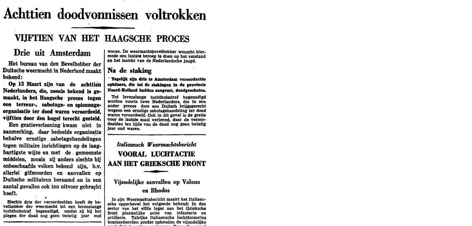 Het Vroege Verzet De Arnhemse Oranjewacht 75 Jaar