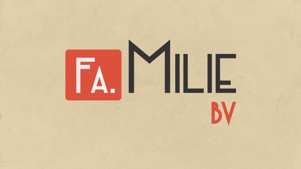 Header van Fa. Milie BV
